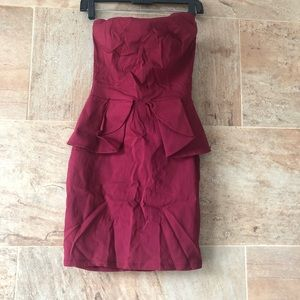 Peplum Body-con Dress